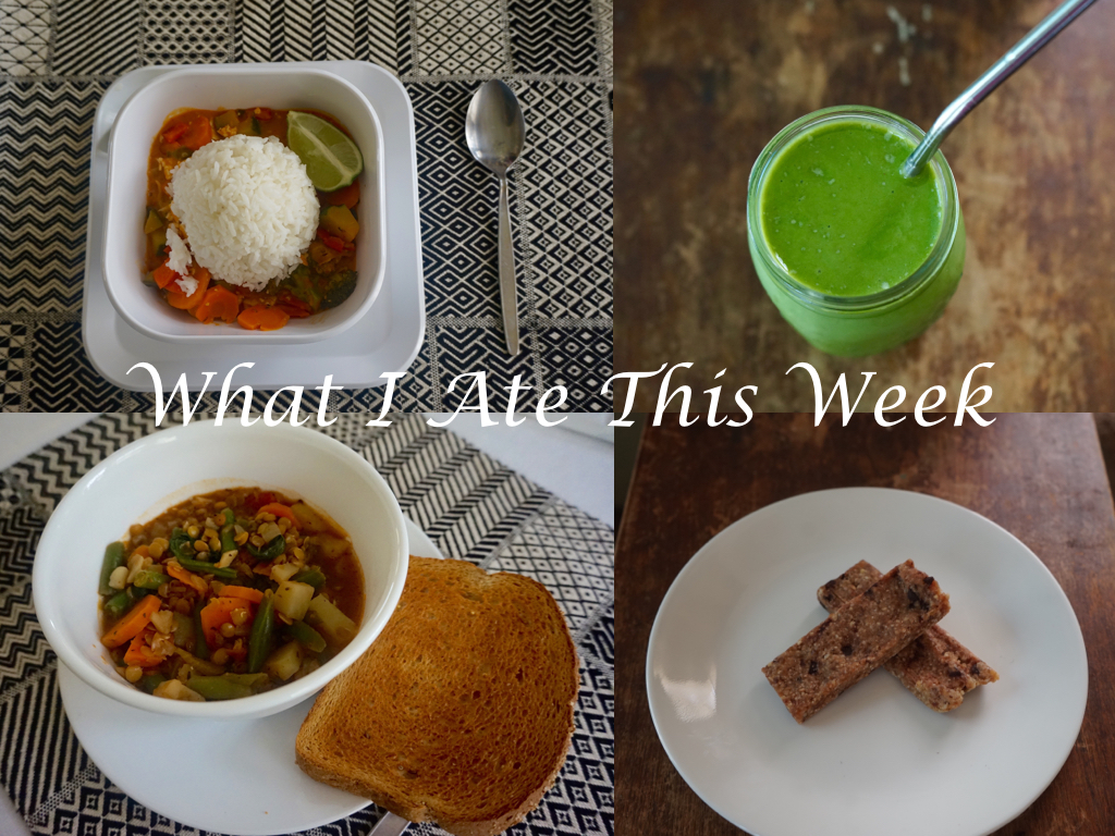 What ate this week 2.001